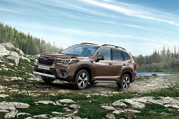 Россия встречает новый Subaru Forester!