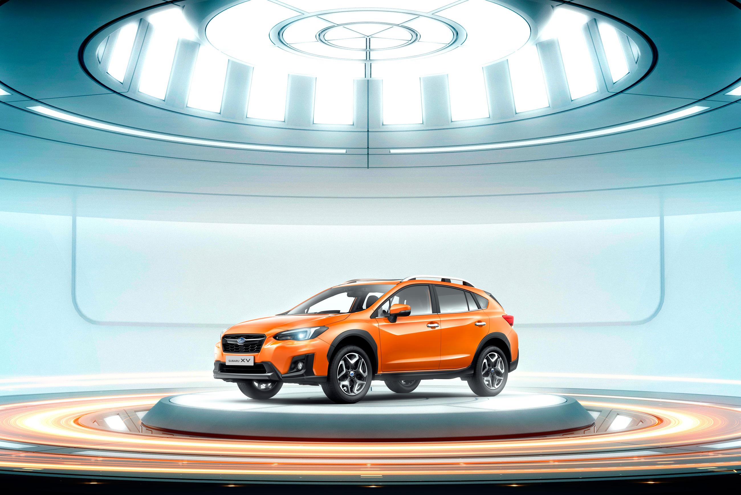 Презентация нового Subaru XV в автоцентре Арена Авто